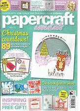 PAPERCRAFT ESSENTIALS, ISSUE,125 ( CHRISTMAS COUNTDOWN !*ON-TREND FESTIVE IDEAS