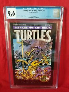 💥Teenage Mutant Ninja Turtles 52💥 - CGC 9.6 First Appearance Karai.