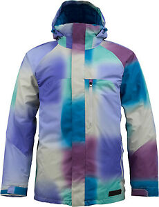 NEW BURTON 1o.OOOmm HOSTILE MENS INSULATED SNOWBOARD JACKET M L