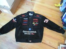 Dale Earnhardt GM Goodwrench Nascar Leather Jacket Size XL