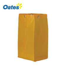 OATES Replacement Yellow Bag for Janitora Cart and Room Service Trolley Carts