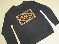 New  OBEY Crewneck Sweatshirt  / Navy Heather / Size Medium  / BAPE