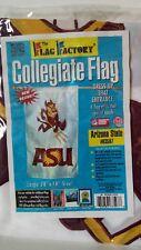"New listing Arizona State University Asu Sun Devils Collegiate Embroidered Flag 28"" x 48"""