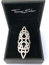 Thomas Sabo Karma Ring 56 Sterling Silber 925 Statement Ring Georgia May Jagger
