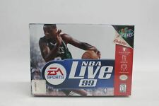 EA SPORTS NBA Live 99 Nintendo 64 Vintage Basketball Game Factory Sealed BNIB