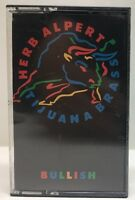 Herb Alpert Tijuana Brass Bullish Chrome Cassette Tape CS-5022