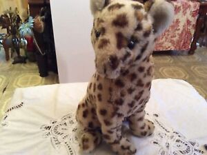 Vintage Dakin 1976 Plush Animal Leopard Cheetah E U C.
