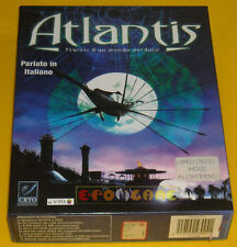 ATLANTIS SEGRETI DI UN MONDO PERDUTO Pc Versione Italiana Big Box »»»»» COMPLETO