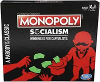 Hasbro Monopoly Socialism Board Game Parody Adult Party Game BRAND NEW IN HAND