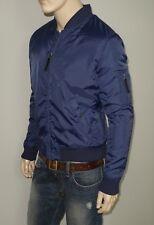 NEW Slate & Stone Jacket in Indigo Size Large Zip Front  100% Nylon
