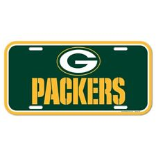 Green Bay Packers Football Team NFL Souvenir Plastic License Plate Car Truck