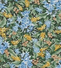 Laurens Flowers II 4302 RJR 100% Cotton Fabric  priced by the 1/2 yard