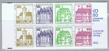 Germany/Berlin - 1977-1982, Castles & Palaces, complete booklet MH-MiNr. 12