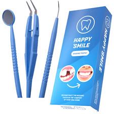 HAPPY SMILE IMPLANT SZTUCZNY ZĄB TYMCZASOWY Sztuczne zęby tymczasowe + Narzędzia