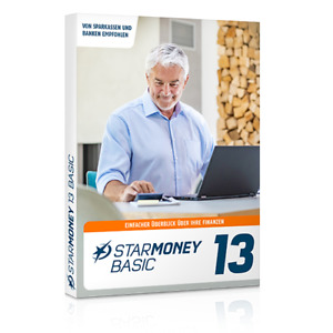 StarMoney 13 Basic Jahreslizenz inkl. Premiumsupport, Download