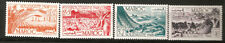 1948 France Morocco Solidarity Mint Never Hinged Stamps Fishing Wheat Marrakesh