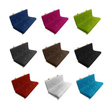 Mylayabout Memory Foam Solid Futon Mattress | Roll Out | 3 sizes |11 colours