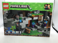 LEGO 21141 Minecraft The Zombie Cave 241 Pieces Brand New Factory Sealed