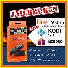 Amazon Fire Stick TV w/ Alexa Voice - Quad Core 2nd Gen - Custom Build 17.3 ----