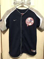 New York Yankees Jersey NIKE Stitched Baseball Youth Medium Vintage Rare