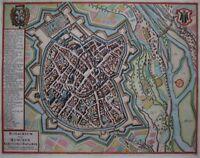 Monachium vulgo Munchen -München -Janssonius / Pieter van der Aa 1727 -Original