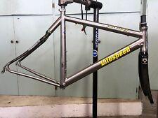 Litespeed Saber 49cm Titanium/Titanium Enhanced Carbon Fiber Frame Set, 650c