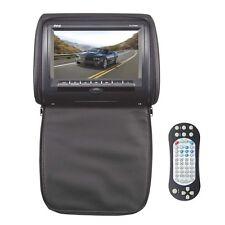 "Pyle PL73DBK 7"" Wide Screen Hi-Res Headrest Monitor W/DVD/USB/SD/IR/FM-Trans"