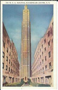 Ansichtskarte USA -R.C.A. Building/Gebäude - Rockefeller Center in New York City