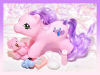 ❤️My Little Pony MLP Vtg G1 Style HQG1C Newborn Pink Baby Flipper Custom❤️