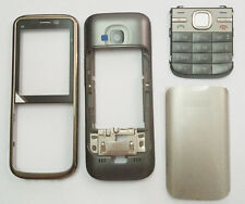 For Nokia C5 C5-00 Classic Fascia Housing Cover casing Keyboard Keypad Replace