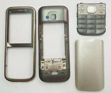 Para Nokia C5 C5-00 Clásico Fascia vivienda Cubierta Carcasa Teclado Teclado reemplazar