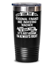 Funny Personal Finance and Investing Teacher School Present Teacher Gift - Perso