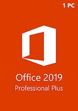 Microsoft ® Office 2019 Professional ✔️ ✔️ ✔️
