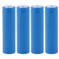 18650 3.7V Lithium ion Rechargeable Batteries 2600mAh Pcak of 4