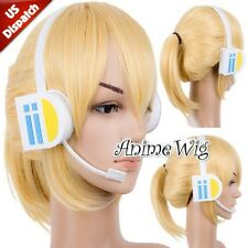 Anime Headphone VOCALOID Brother Kagamine Len Fancy Cosplay Earphone Accessories