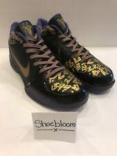 Nike Zoom Kobe IV 4 OG Release LA Lakers Playoffs Finals Champions MVP PE Sz 11