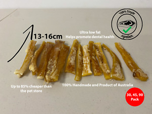 HANDMADE NATURAL HEALTHY Dog Puppy Beef Chewing Chew Sticks Treat + Dental Care