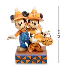"Enesco Disney Traditions Jim Shore 4057948 Figurine ""Mickey, Minnie Halloween"""