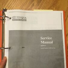 Toyota 6hbw23 Electric Pallet Walkie Service Shop Repair Manual Fork Lift Truck