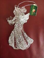 Kurt S Adler angel ornament with musical Harp