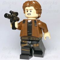 New Star Wars LEGO® Young Han Solo Minifigure Brown Jacket 75212 75512 Genuine