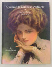 American and European Postcards of Harrison Fisher Naomi Welch Book J65324