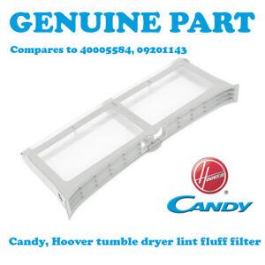 HOOVER DNCD813B80 DNC D813BB-80 DNCD813BB80 Tumble Dryer Fluff Lint Filter