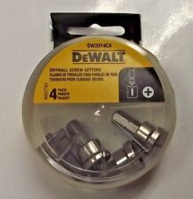 DEWALT DW2014C4 Drywall Screw Setter Bit Tip 4 Tips Per Pack