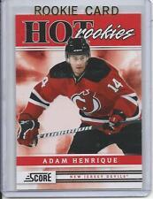 11-12 Score Adam Henrique Rookie Card RC #543 Mint