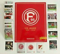 Panini 125 Jahre Fortuna Düsseldorf - 5/10/20/30/50 Sticker aussuchen aus 282