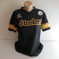 T-shirt noir STEELERS 50 SUPER BOWL ON THE FIFTY NFL NEW ERA 2015 N6463
