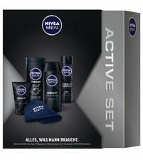 Nivea Men Deep Geschenkset 1xBadetuch+Dusche+Deo+Shampoo+Waschgel 1er-Pack 750ml