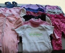 Baby Girl Size 6-9 months Clothing Lot - 13 pieces - Bodysuits Pants Sleeper