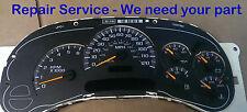 REPAIR REBUILD SERVICE 2004 GMC Sierra 2500HD Gauge Cluster Speedometer